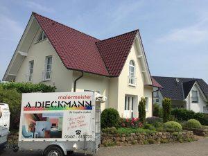 Aussenfassade Malermeister-Osnabrück Andreas Dieckmann
