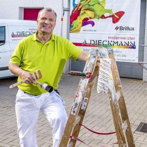 Maler Andreas Dieckmann