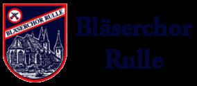 Bläserchor Rulle Logo
